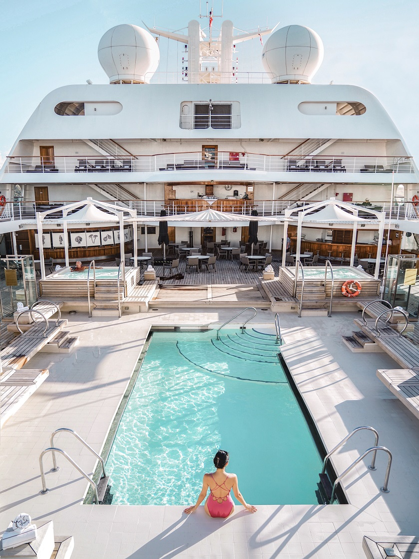 Pool ombord Seabourn fartyg