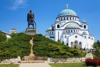 Monument Karageorge Petrovitch, Serbien, Belgrad