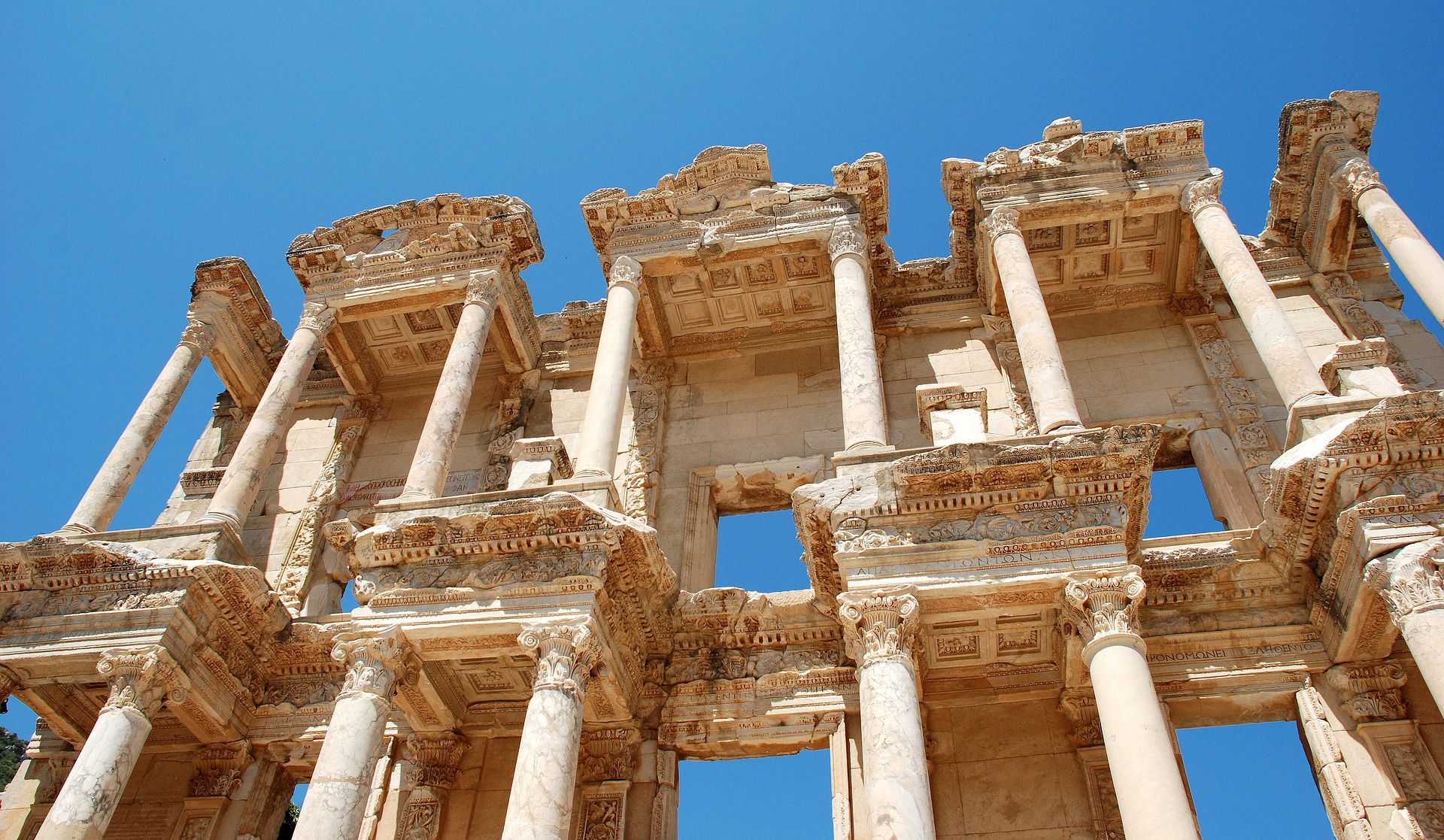 Efesos ruin, Turkiet